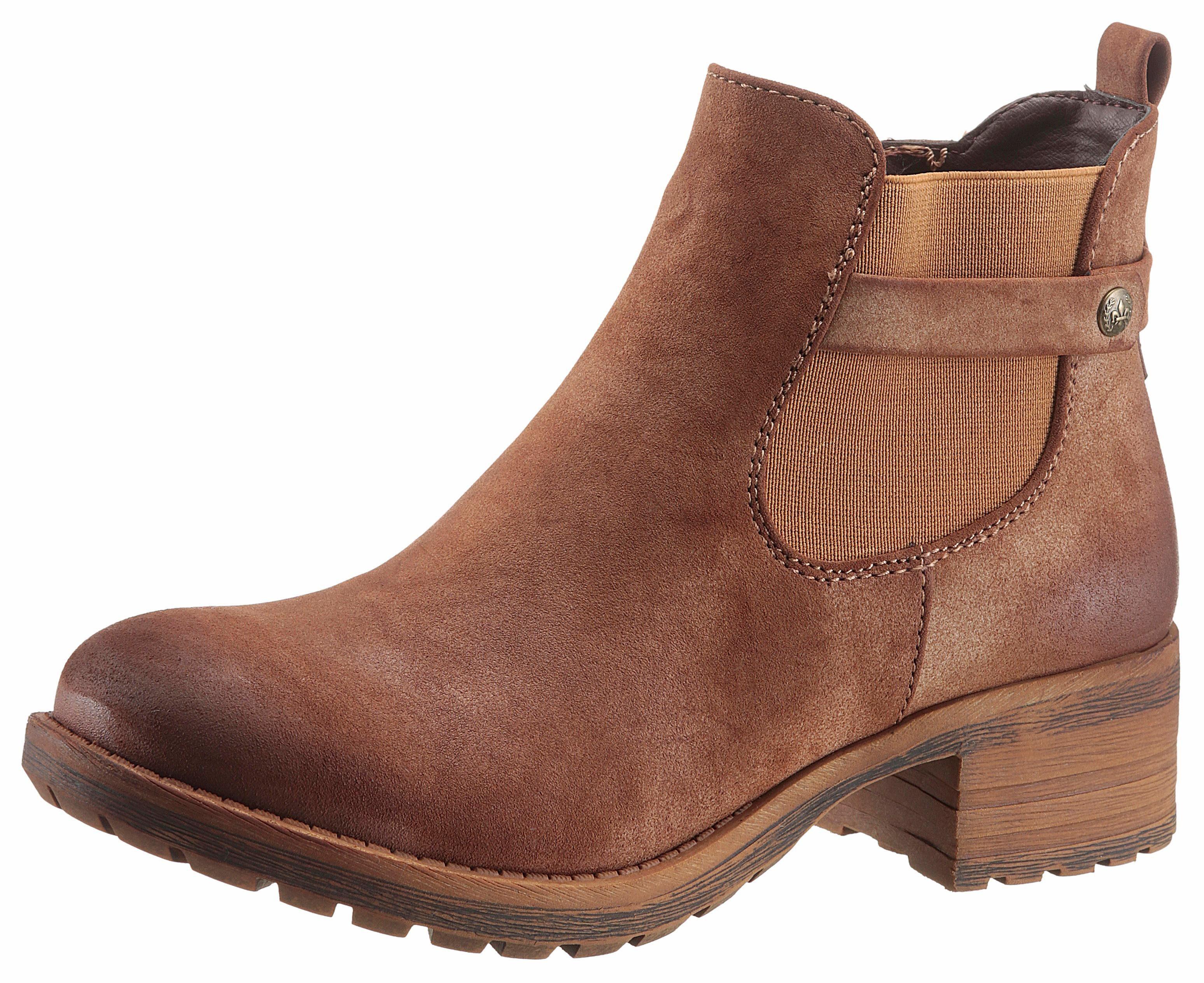 Rieker Chelsea Boots braun