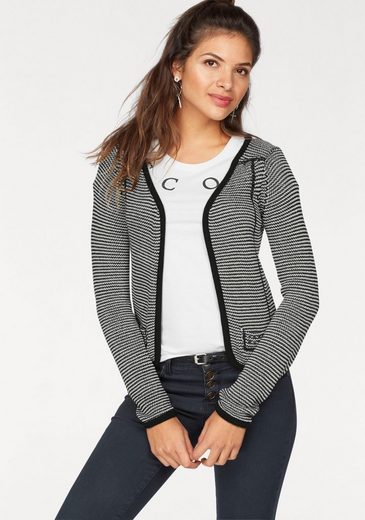 AJC Strickjacke, in cooler Blazer-Optik