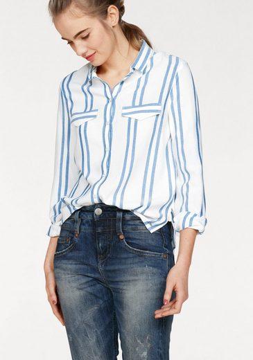 Bench Shirt Blouse, Design Stripe In