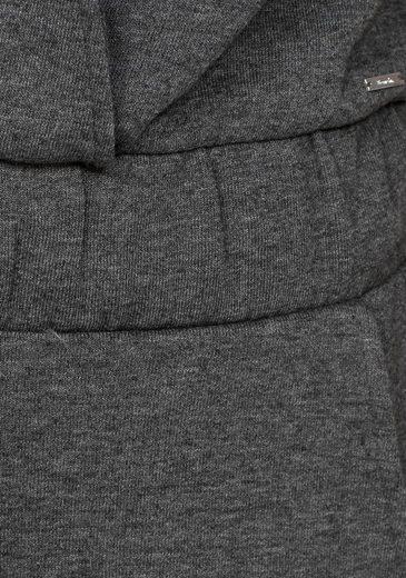 Bench Overall, in Wickeloptik aus Sweat