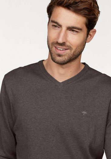 FYNCH-HATTON V-Ausschnitt-Pullover, SUPERFINE COTTON