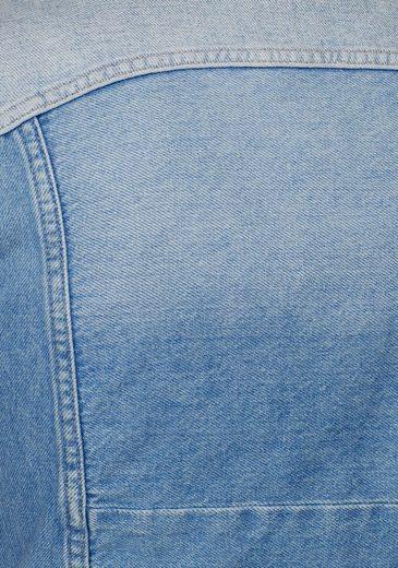 Pepe Jeans Jeansjacke LAYERCAKE JACKET, in Patchwork-Optik