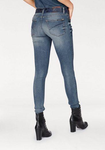 Garcia Slim-fit-Jeans Rachelle Super Slim, mit breitem 2-Knopf-Bund