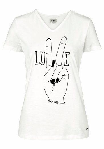COLORADO DENIM T-Shirt, mit coolem Druck