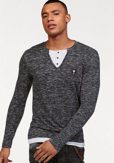 Cipo & Baxx Henleyshirt