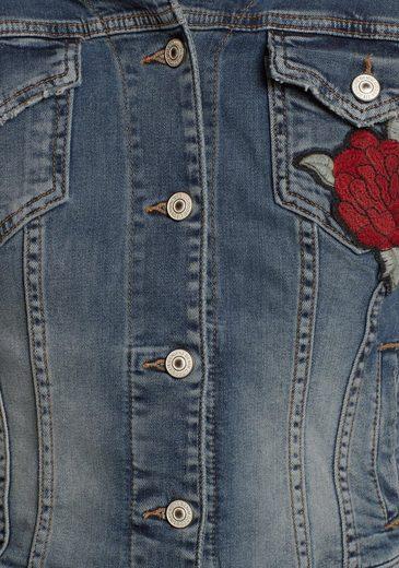 LTB Jeansjacke DEAN X, mit trendigen Badges
