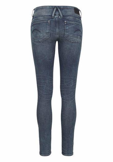 G-Star RAW Skinny-fit-Jeans Lynn Zip, mit Stretch