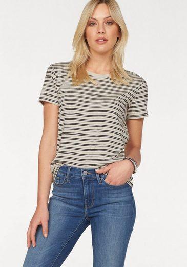 Tee-shirt Perfekct T-shirt Levis®, Avec Fils Métallisés