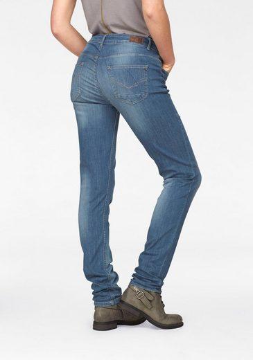 "Stretch-Jeans ""Monroe"", Skinny Fit mit Knöpfen"