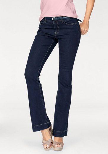 Tom Tailor Polo Team Bootcut-Jeans, in klassischer, ausgestellter Form