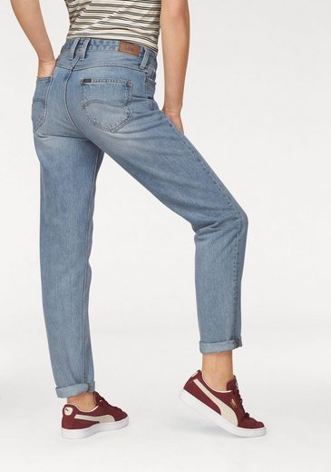 Lee® Stretch-Jeans MOM Straight, High waist