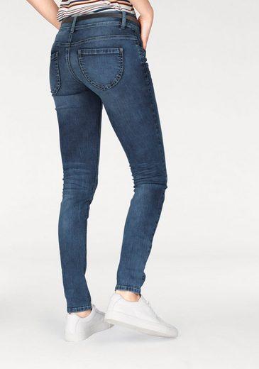 Tom Tailor Stretch-Jeans Alexa skinny, Alexa Skinny mit kleiner Stickerei und Metallnieten