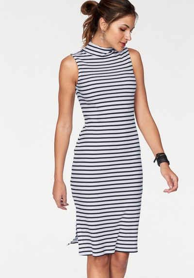 AJC Jerseykleid, mit Stehkragen gestreift und unifarben Sale Angebote Schipkau Meuro