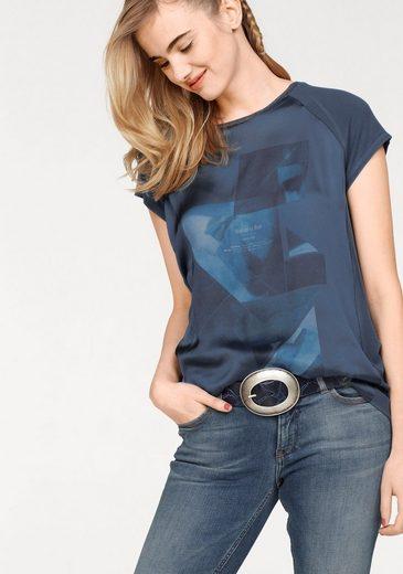Garcia T-Shirt, mit bedruckter Vorderseite