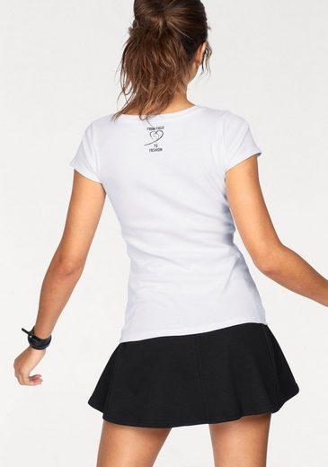 from field to fashion T-Shirt, unterstützt Cotton made in Africa
