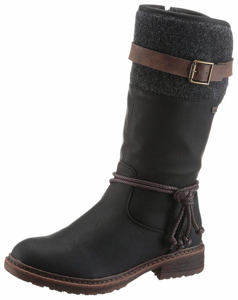 Rieker Winterstiefel mit Tex-Ausstattung   Schuhe > Boots > Winterstiefel   Schwarz   Rieker