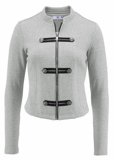 AJC Sweatjacke, mit Military Details und Zippern