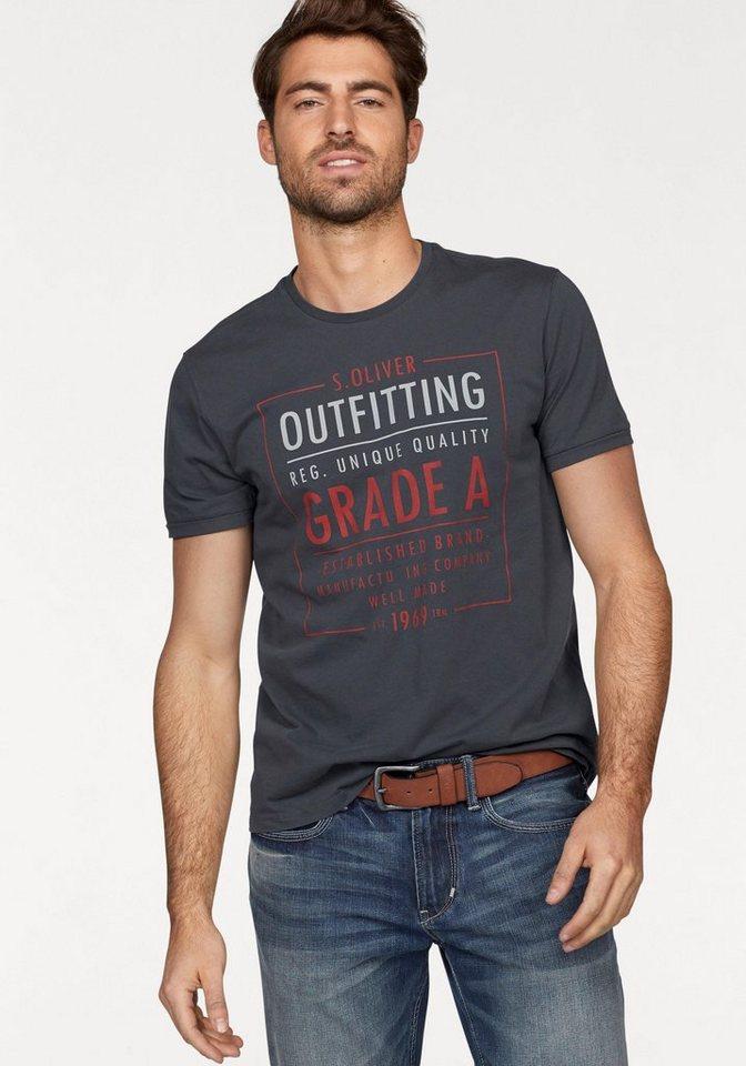 s oliver red label t shirt online kaufen otto. Black Bedroom Furniture Sets. Home Design Ideas