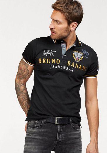 Bruno Banani Poloshirt Piqué Qualität