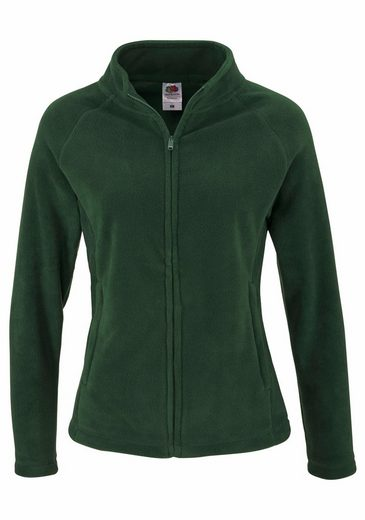 Fruit of the Loom Fleecejacke, Full zip fleece Lady-Fit