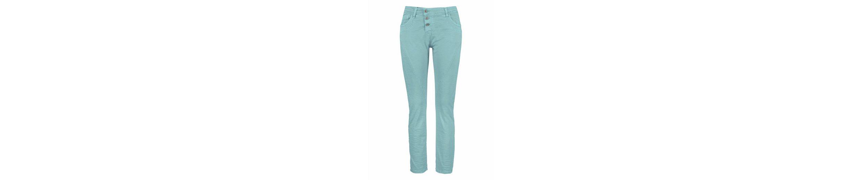 Please Jeans Boyfriend-Hose P78, mit herzförmigem Metalllabel