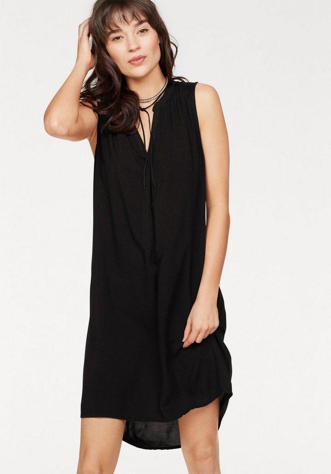 Q s designed by sommerkleid mit v ausschnitt otto - Sommerkleid v ausschnitt ...