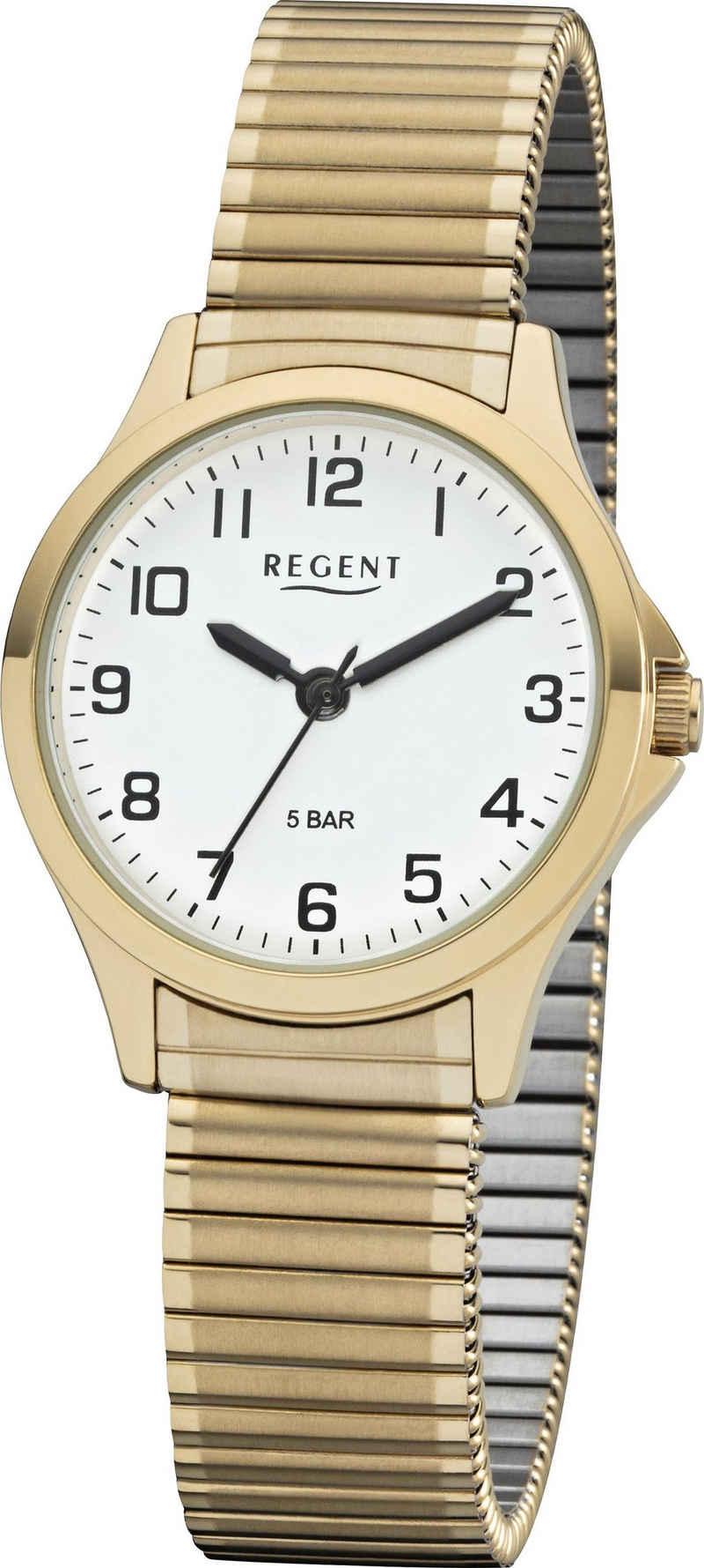 Regent Quarzuhr »12300089«, mit Zugband