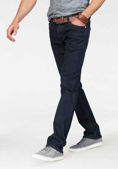 af783189f1eaeb John Devin Straight-Jeans mit Knopfleiste