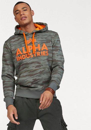 Alpha Industries Kapuzensweatshirt »Foam Print Hoody«