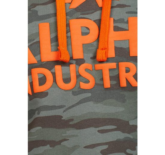 Hoody« Print »Foam Kapuzensweatshirt Industries Alpha 74xzCTqnIz