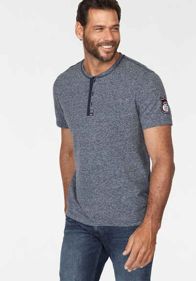 35ed895f00fdcf T-Shirt mit Knopfleiste für Herren kaufen » Henleyshirt
