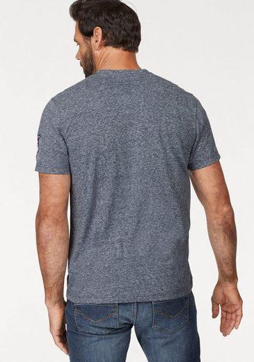 Arizona T-Shirt, mit Serafino-Ausschnitt