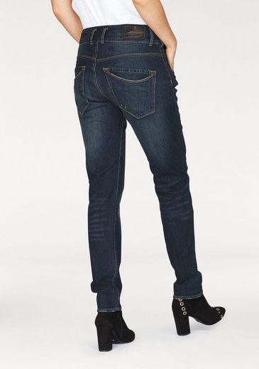 Herrlicher Boyfriend-Jeans Raya Boy, mit extrabreitem Bund