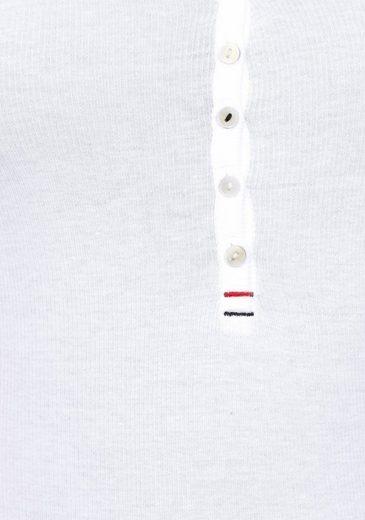 Hilfiger Denim Henleyshirt, mit Knopfleiste