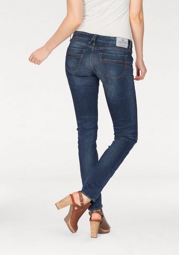 Herrlicher Slim-fit-Jeans »TOUCH SLIM« Low Waist Push-up-Stretch-Jeans
