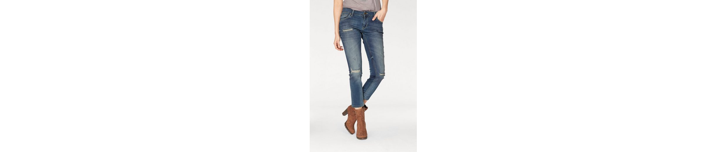 Zhrill Ankle-Jeans ANITA, mit Destroyed-Effekten