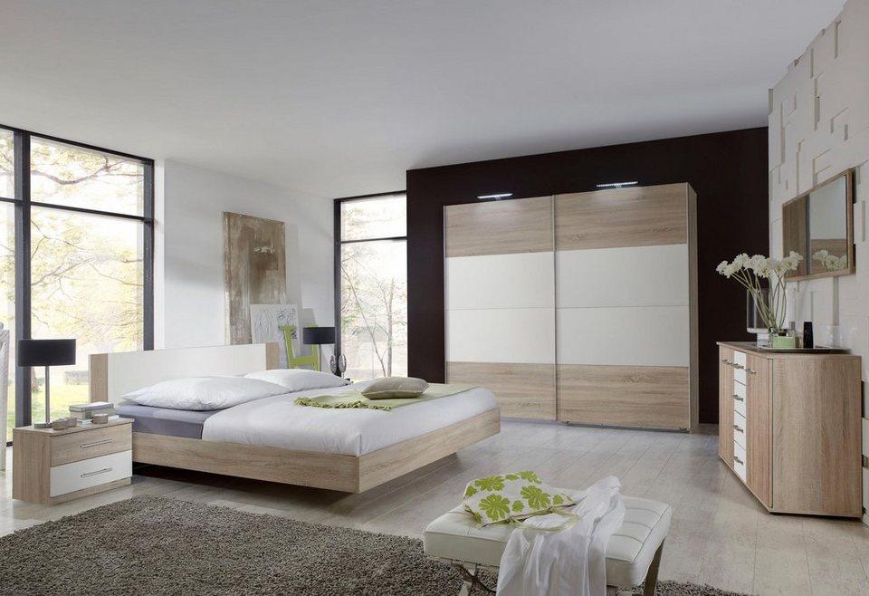 Wimex Schlafzimmer-Set »Franziska«, Set inkl. Schwebetürenschrank, Bett und  2 Nachttische online kaufen | OTTO