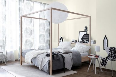 sch ner wohnen wand und deckenfarbe naturell naturwei. Black Bedroom Furniture Sets. Home Design Ideas