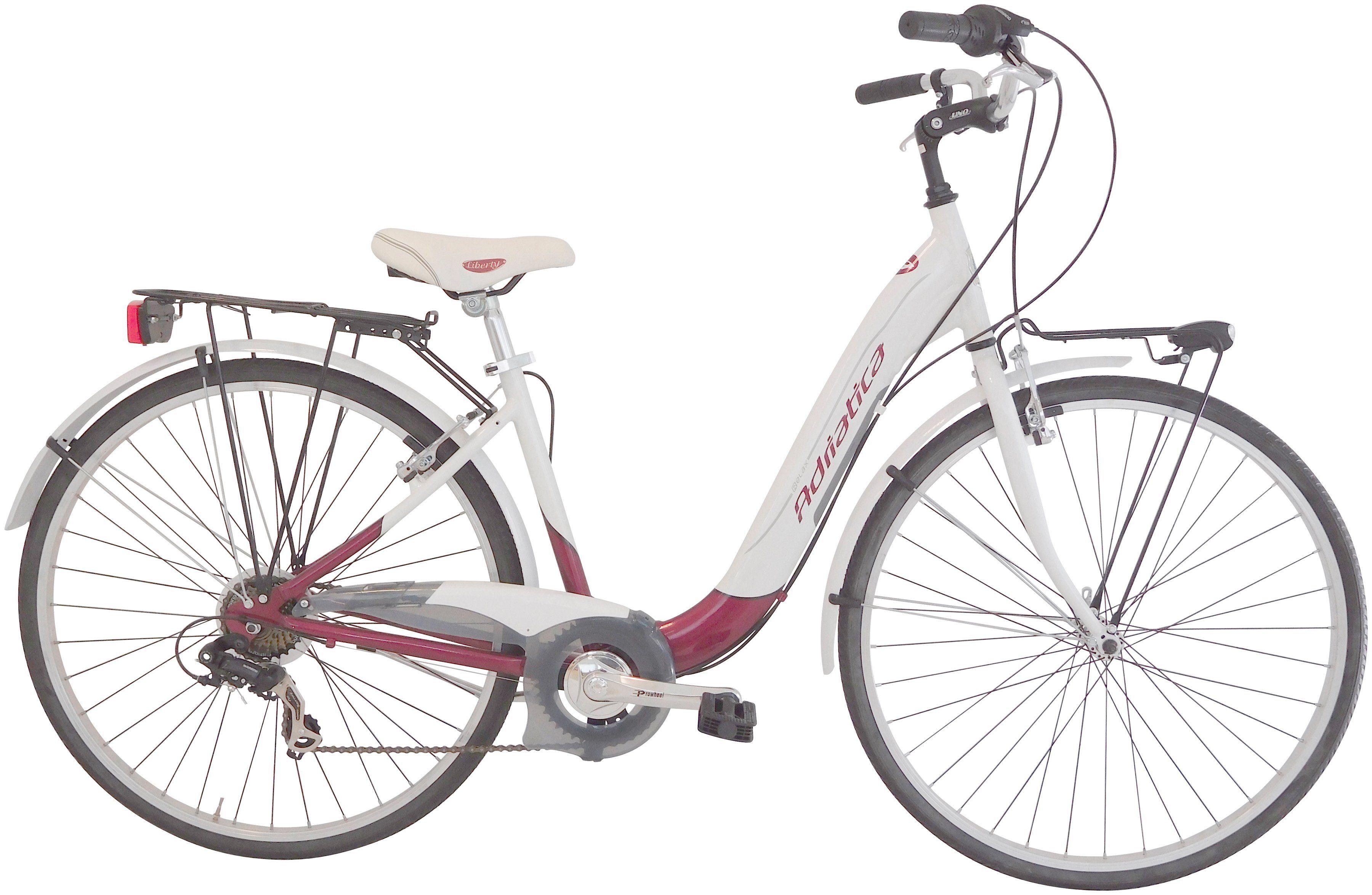 Citybike Damen »Relax«, 28 Zoll, 6 Gang, Felgenbremse