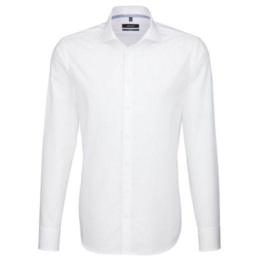 seidensticker Businesshemd »Tailored« Kent-Kragen
