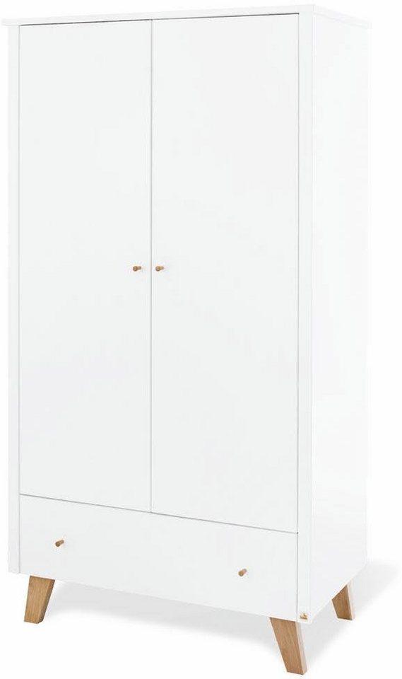 pinolino kleiderschrank pan 2 t rig kaufen otto. Black Bedroom Furniture Sets. Home Design Ideas
