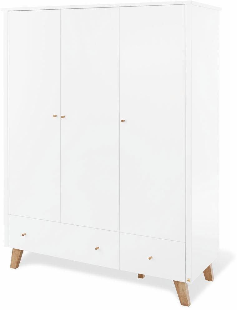 Pinolino Kleiderschrank »Pan« 3-türig | Schlafzimmer > Kleiderschränke > Drehtürenschränke | Pinolino®