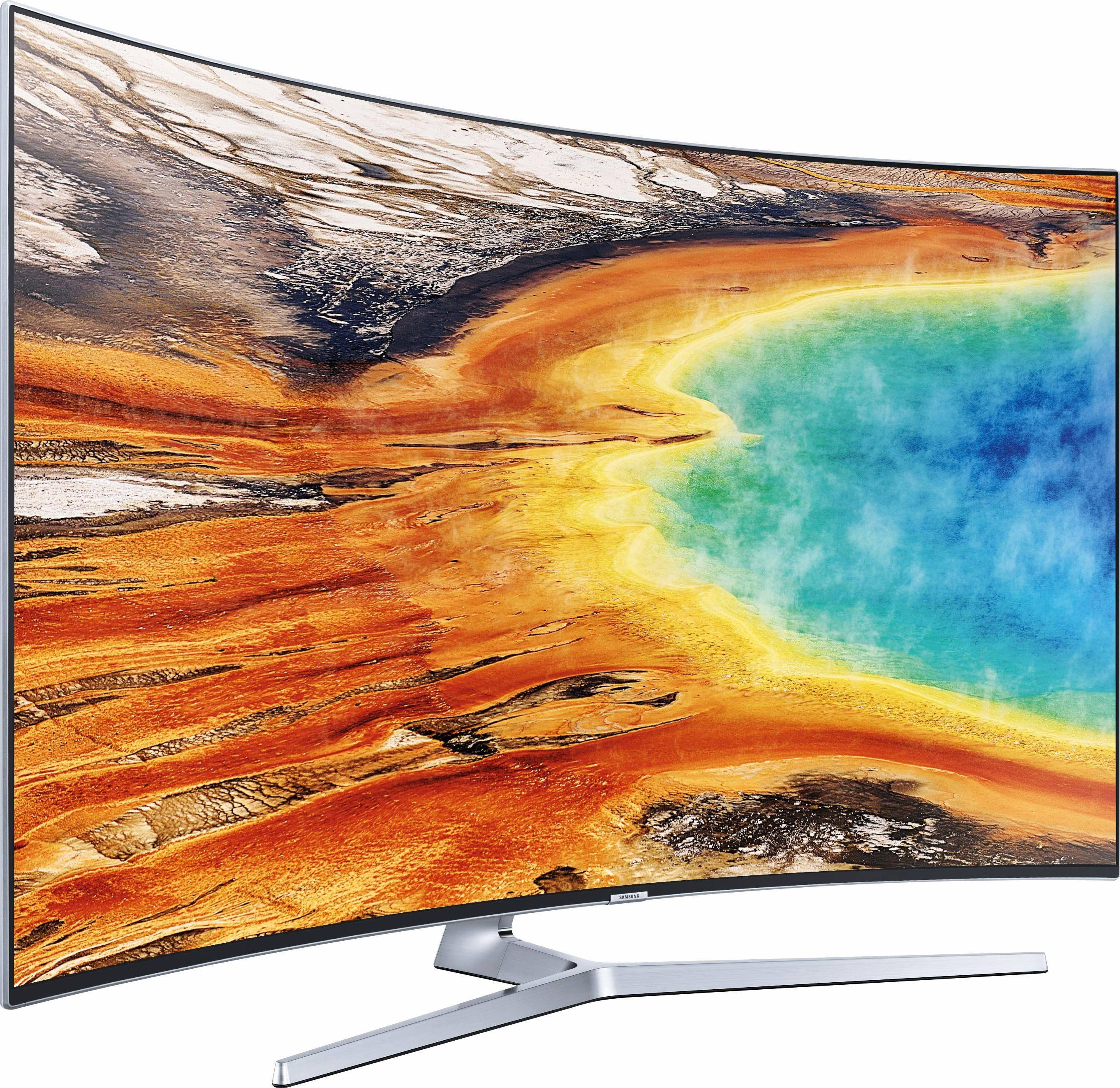 Samsung UE65MU9009TXZG Curved LED Fernseher (163 cm / 65 Zoll, UHD/4K, Smart-TV)
