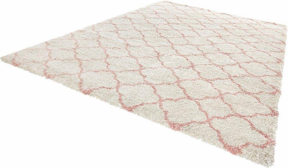 Teppich mint  Hochflor-Teppich »Luna«, MINT RUGS, rechteckig, Höhe 35 mm online ...