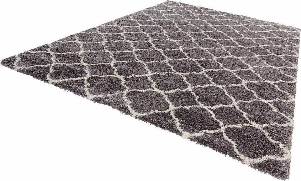 Hochflor Teppich Luna Mint Rugs Rechteckig Hohe 35 Mm Online