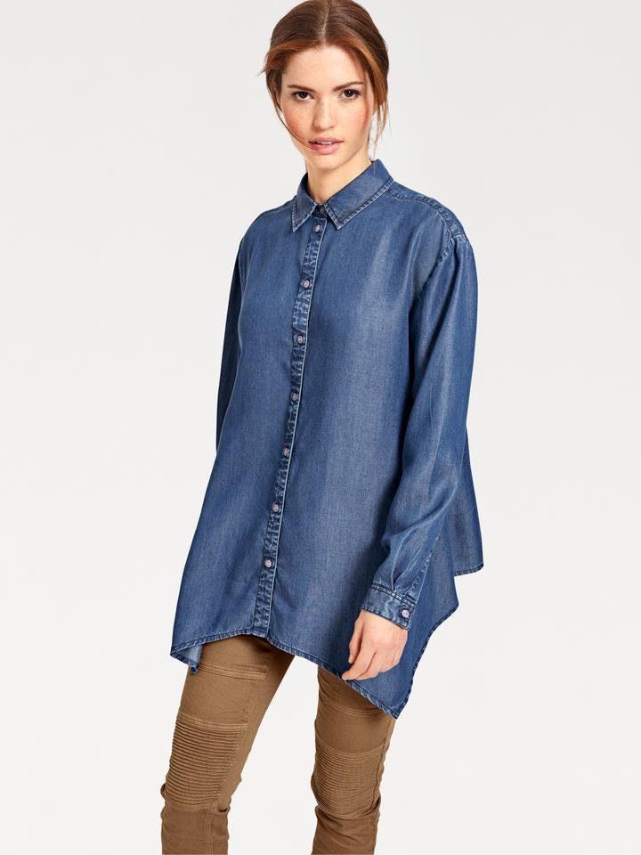 Блузка объёмного фасона