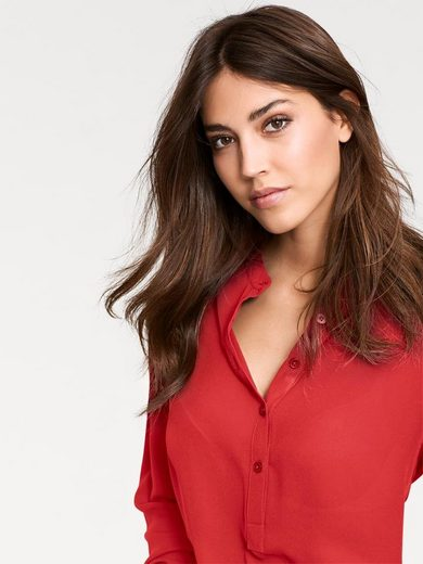 ASHLEY BROOKE by Heine Longbluse Chiffon