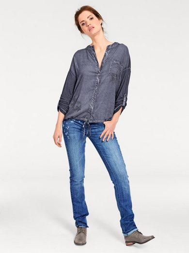 B.C. BEST CONNECTIONS by Heine Oversized-Shirt mit Sternen Applikation