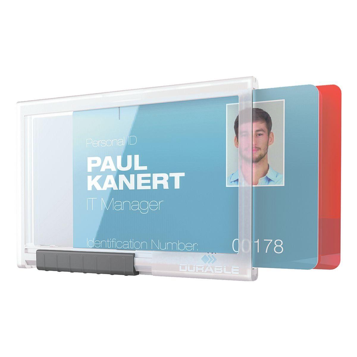 DURABLE Kartenhalter »Pushbox DUO«
