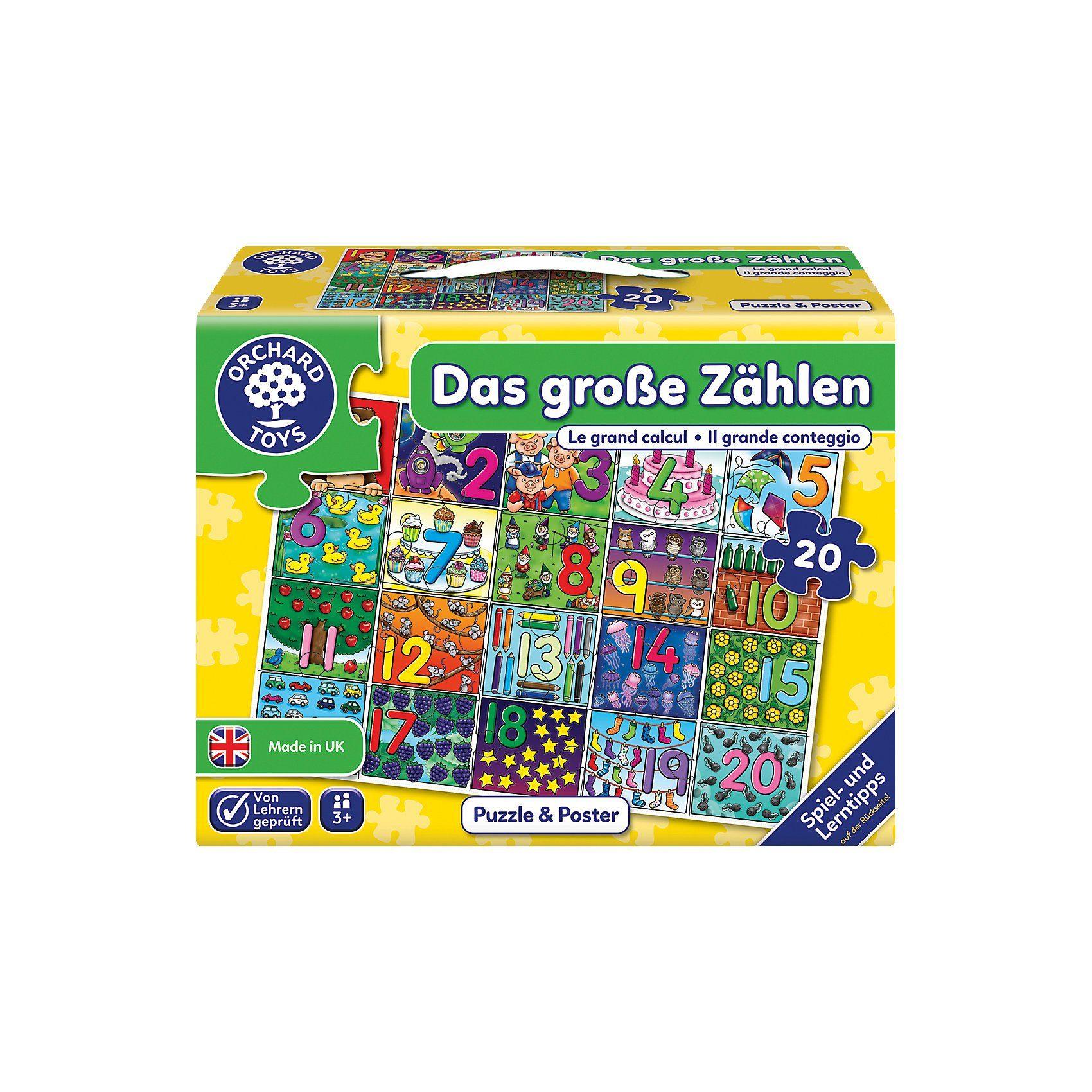 Bodenpuzzle - Das große Zählen
